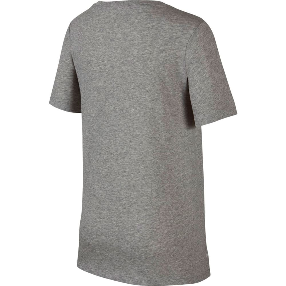 NIKE Big Boys' Dry Just Don't Quit Training Short-Sleeve Tee - DGH/BLACK-063