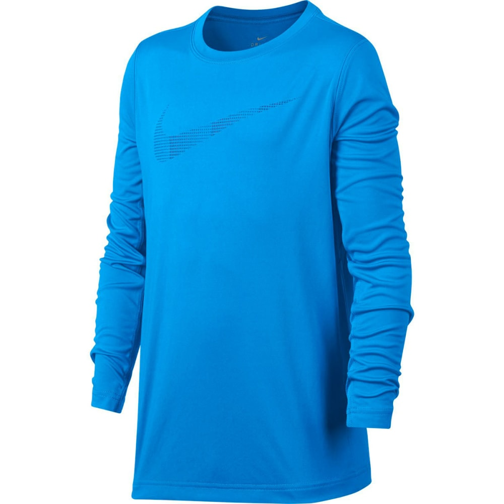 NIKE Big Boys' Legacy Long-Sleeve Shirt S