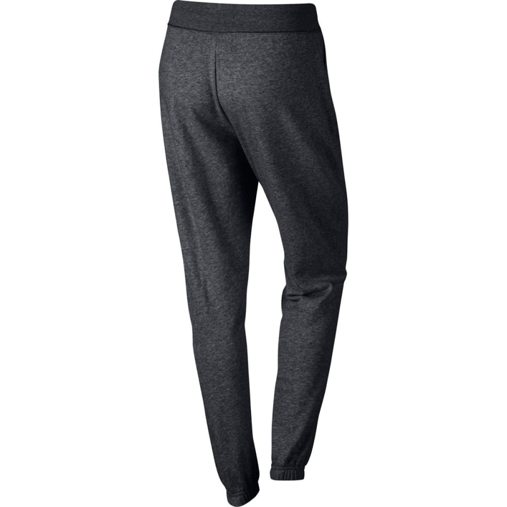 NIKE Women's NSW Regular Fit Pants - CHARCOAL HTR/WHT-071