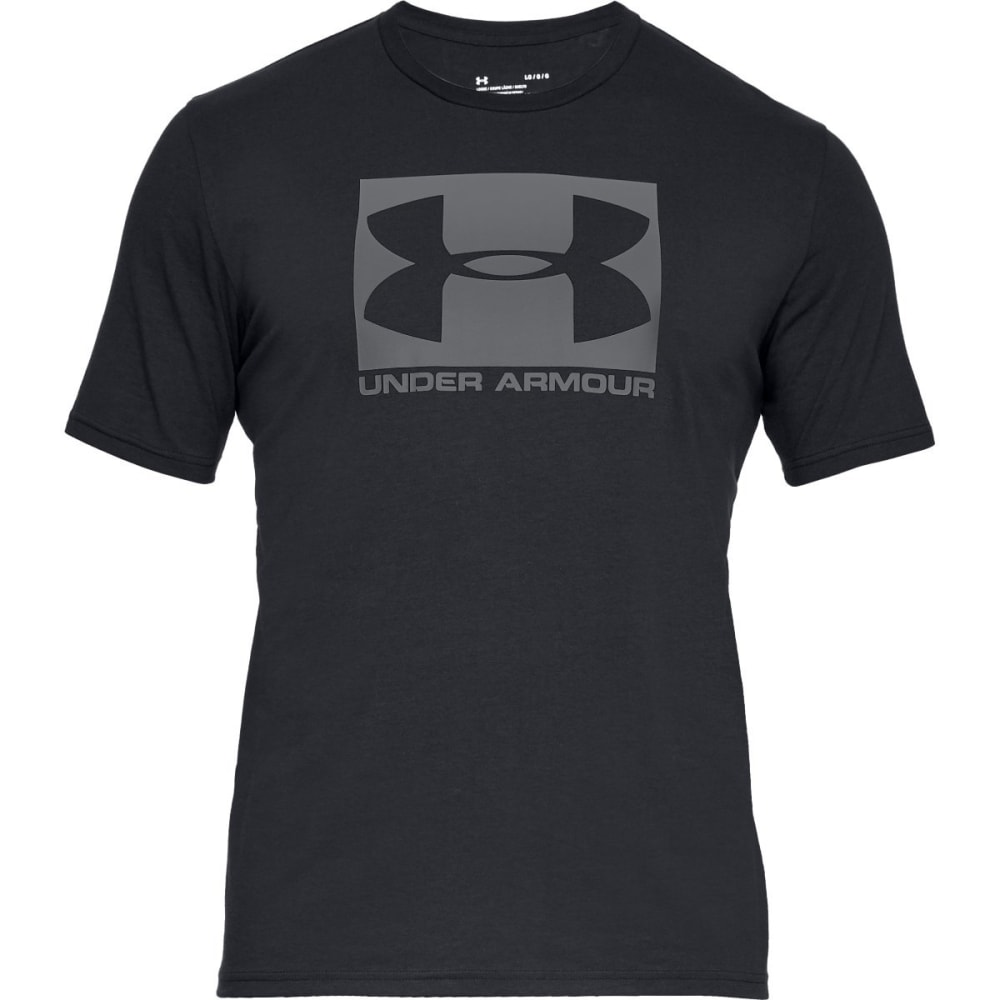 UNDER ARMOUR Men's UA Sportstyle Boxed Graphic Short-Sleeve Tee - BLACK-001