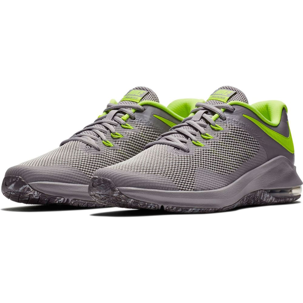 NIKE Men's Air Max Alpha Cross-Training Shoes - ATMOSPHERE GRY-090