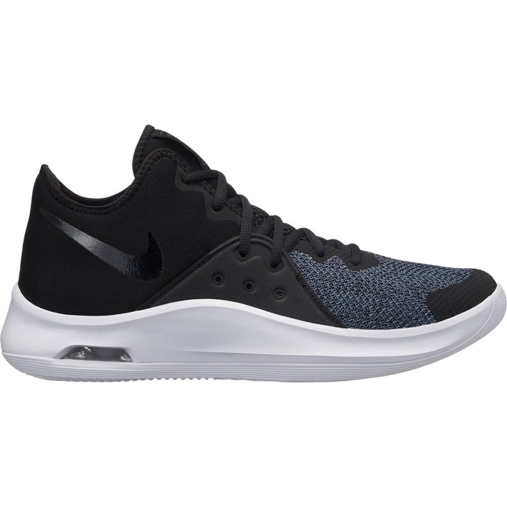 NIKE Men's Air Versitile III Basketball Shoes - BLK-001