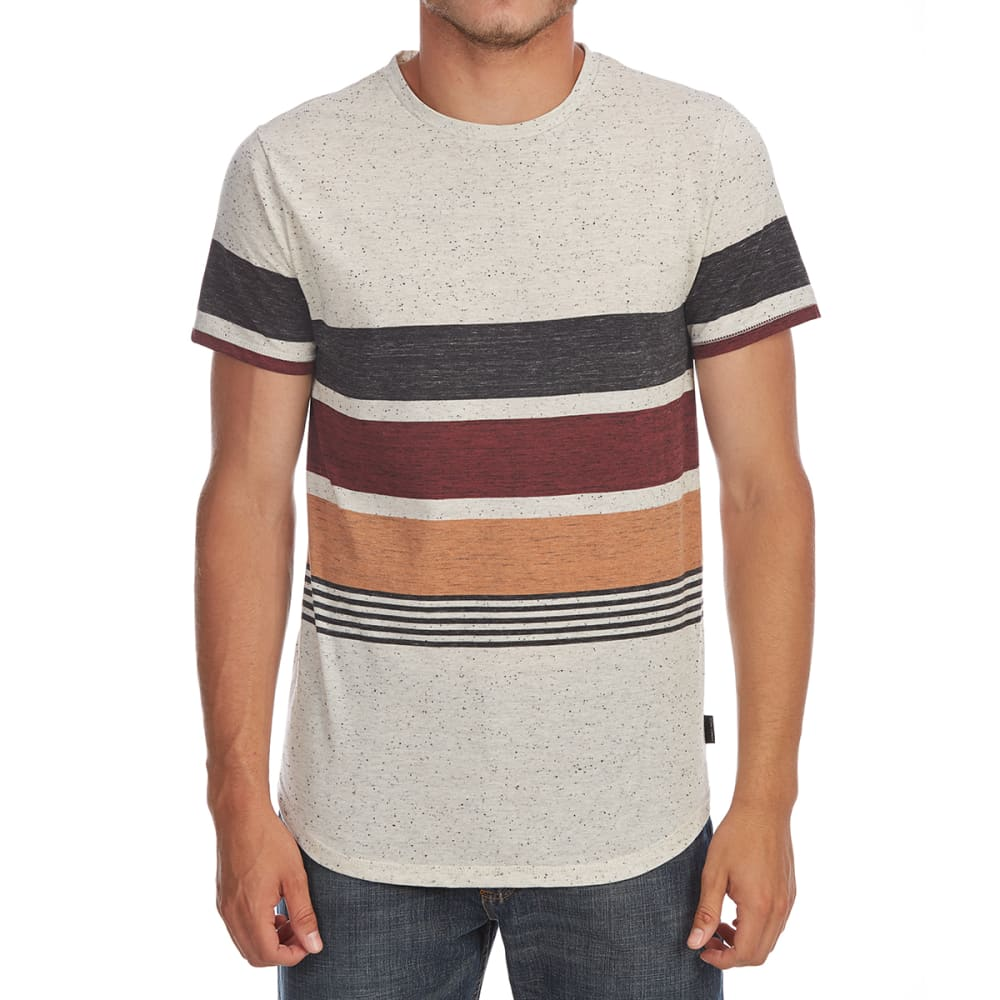 OCEAN CURRENT Guys' Ed Nap Heather Short-Sleeve Tee - OATMEAL HTR