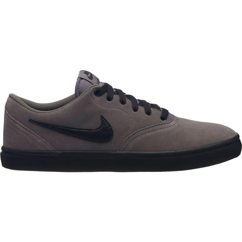 NIKE SB Men's Check Solarsoft Skateboarding Shoes - GUNSMOKE-011