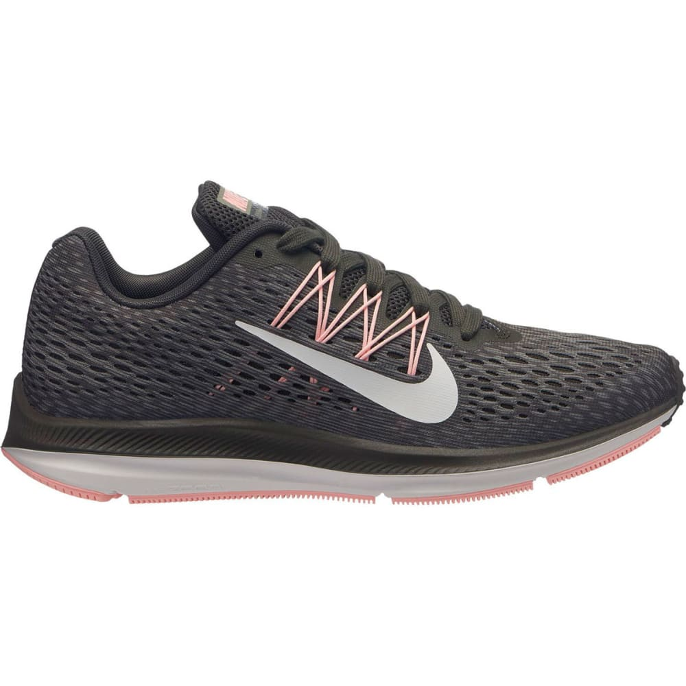 NIKE Women's Air Zoom Winflo 5 Running Shoes - PURE PLTNM -004