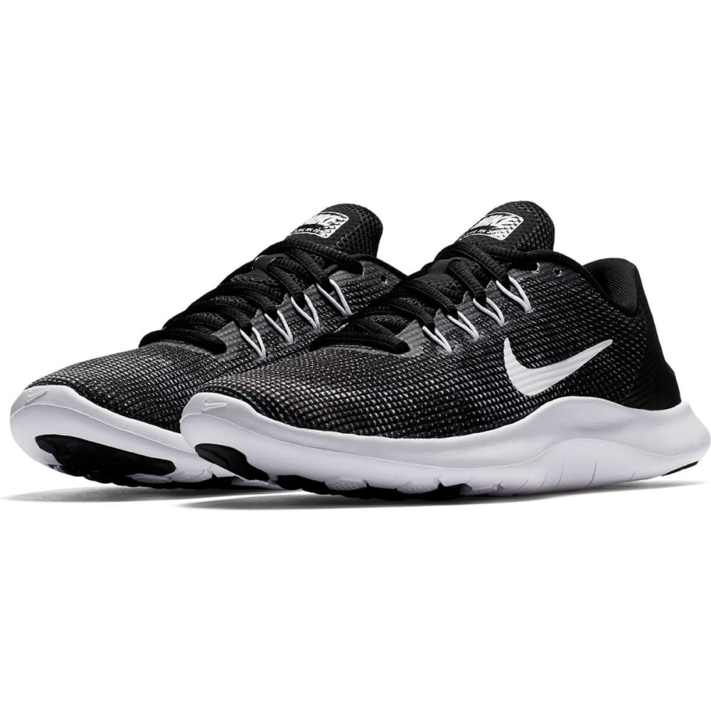 NIKE Women's Flex RN 2018 Running Shoes - BLACK-001