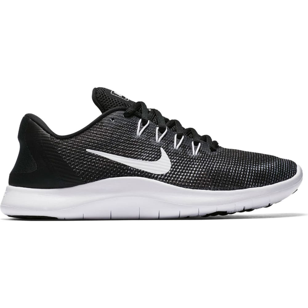 NIKE Women's Flex RN 2018 Running Shoes - BLACK-001