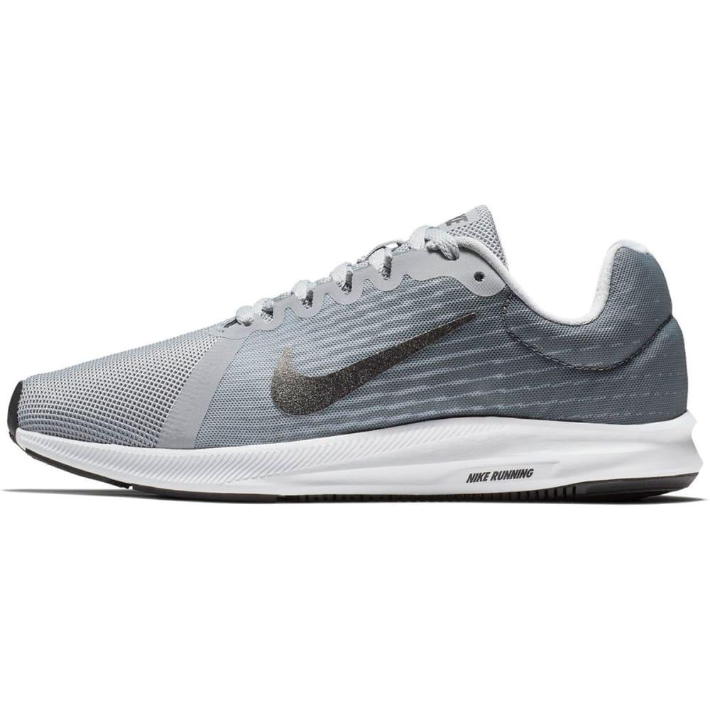 NIKE Women's Downshifter 8 Running Shoes, Wide - WOLF GREY-006