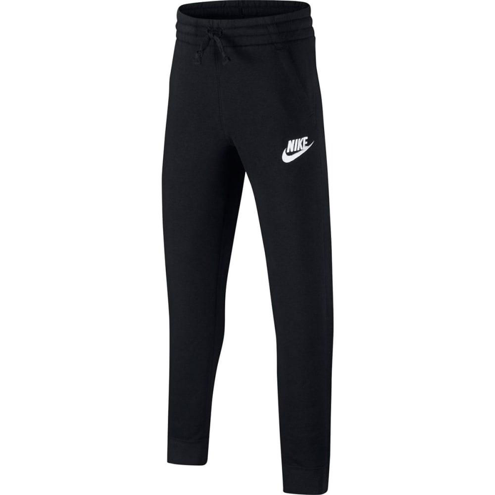 NIKE Big Boys' NSW Club Fleece Jogger Pants - BLACK/WHITE-010