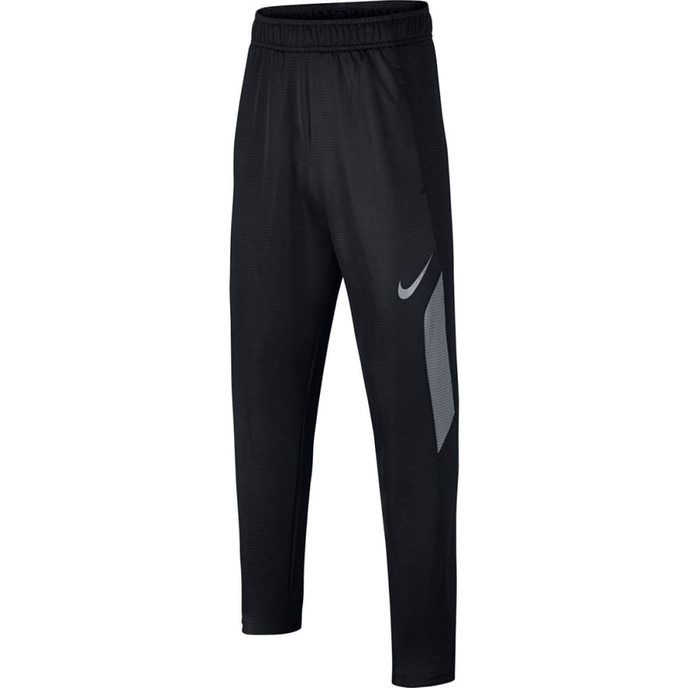 NIKE Big Boys' Dry Training Pants - BLACK/COOL GRY-010