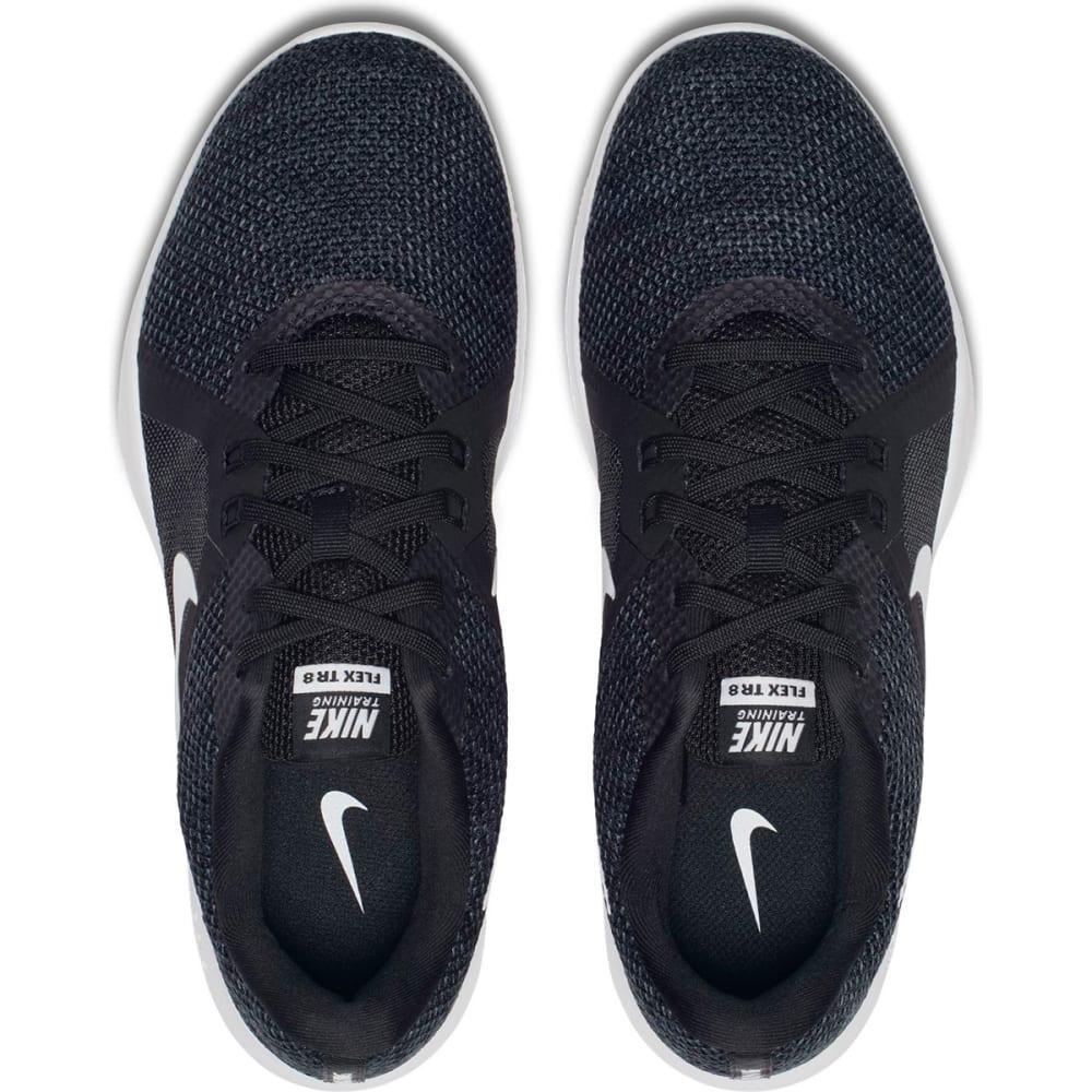 NIKE Women's Flex TR 8 Cross-Training Shoes, Wide - BLACK-010