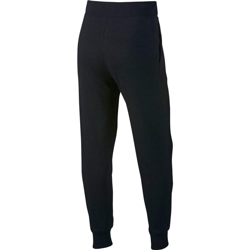 NIKE Big Girls' Sportswear Pants - BLACK/WHITE-010