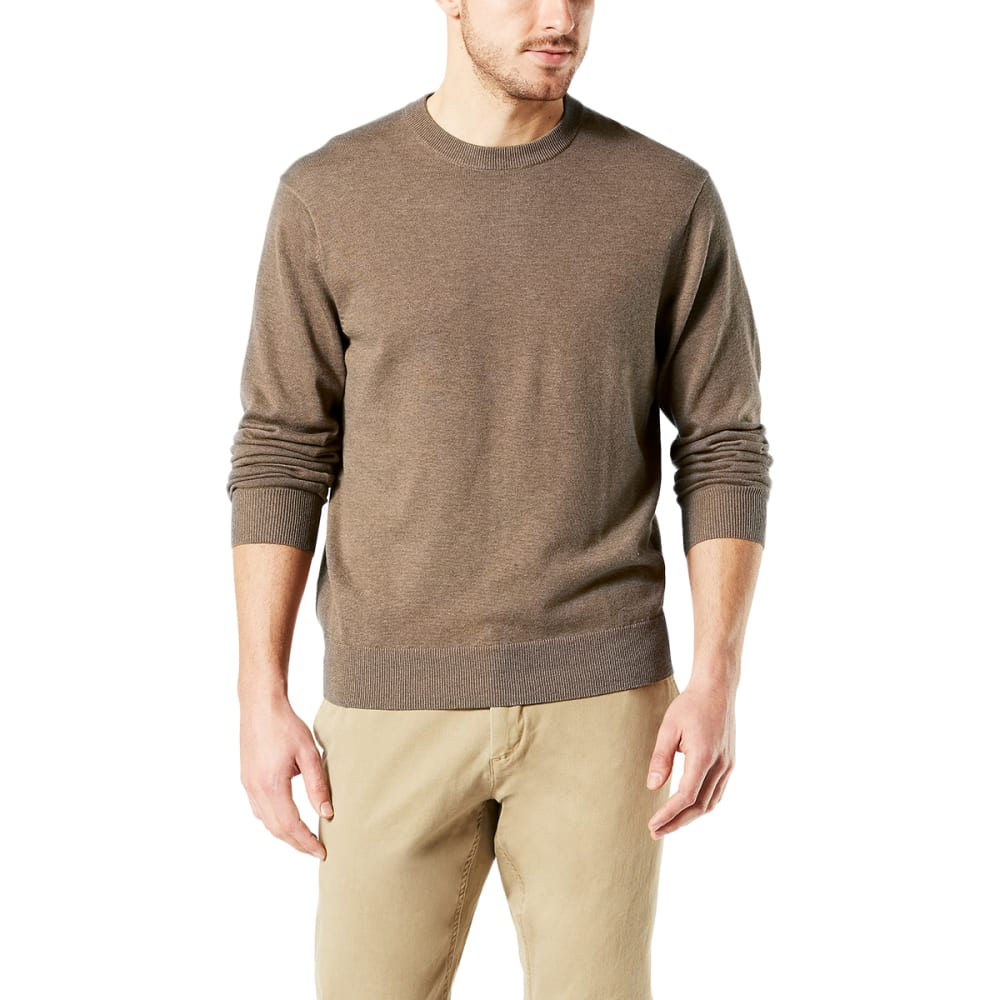 DOCKERS Men's Cotton Crewneck Long-Sleeve Sweater M
