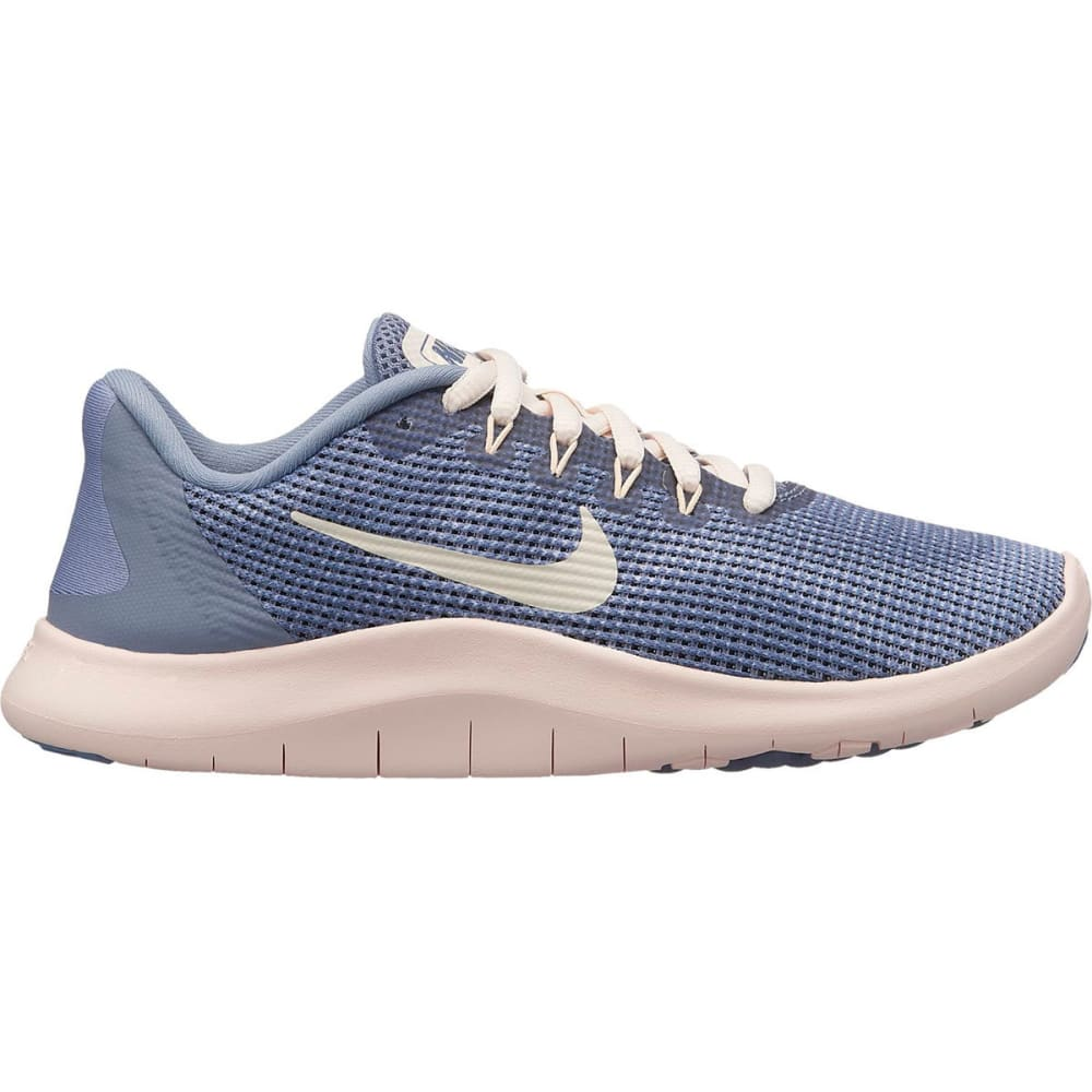 NIKE Big Girls' Grade School Flex RN 2018 Running Shoes - ASHEN SLATE-400