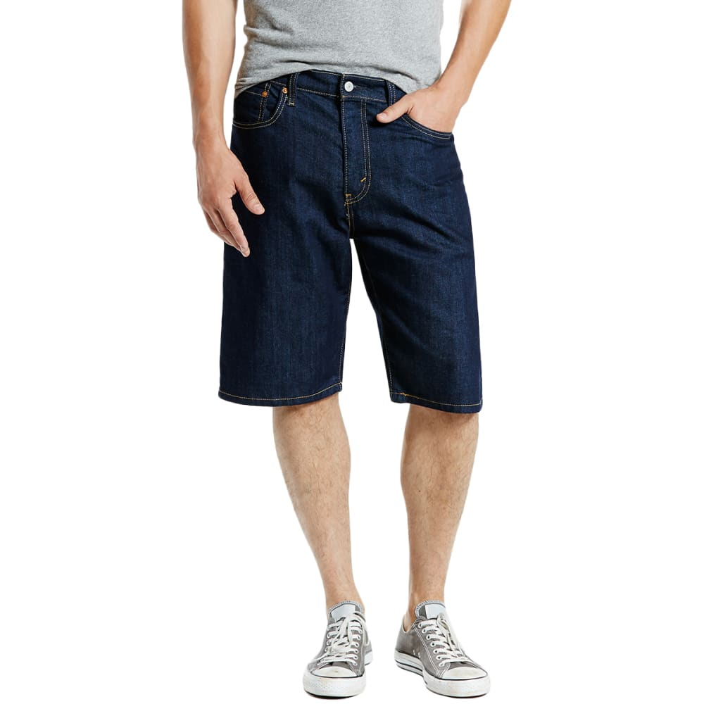 LEVI'S Guys' 569 Loose Fit Denim Shorts - 0143 HOMESPUN RINSE
