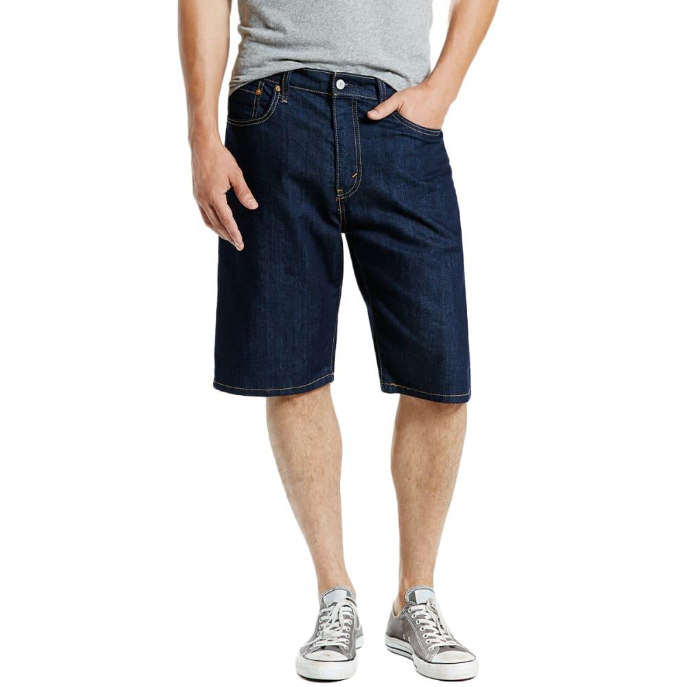 LEVI'S Guys' 569 Loose Fit Denim Shorts 30
