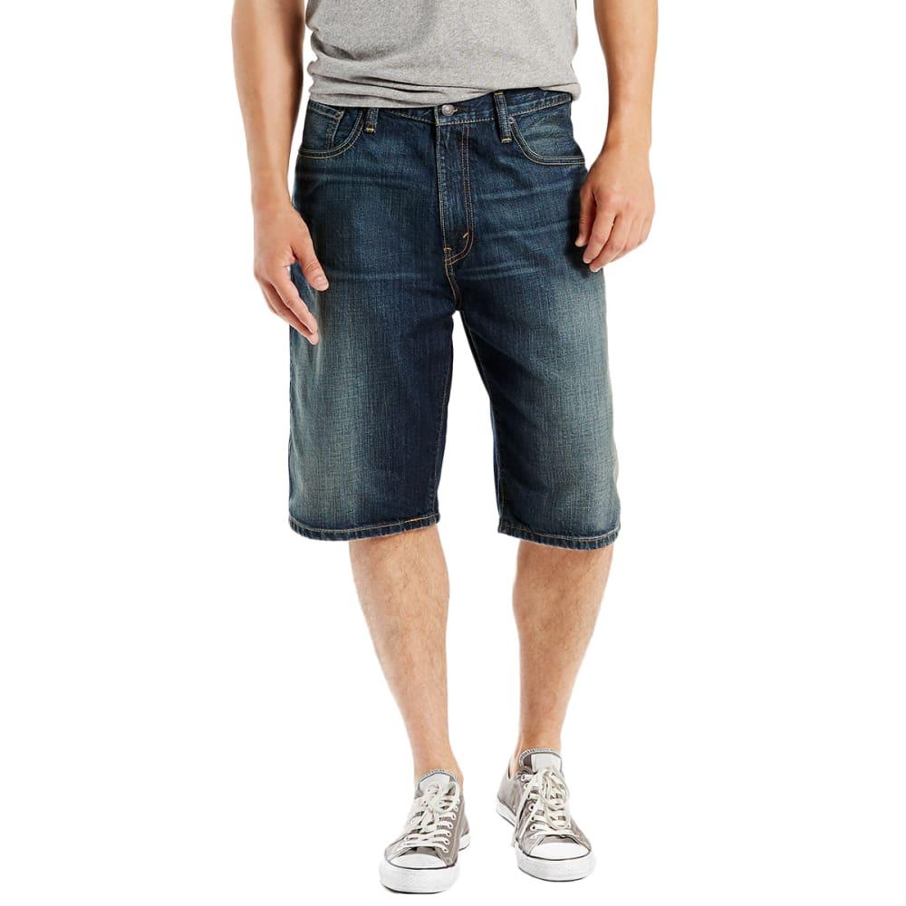 LEVI'S Guys' 569 Loose Fit Denim Shorts 34
