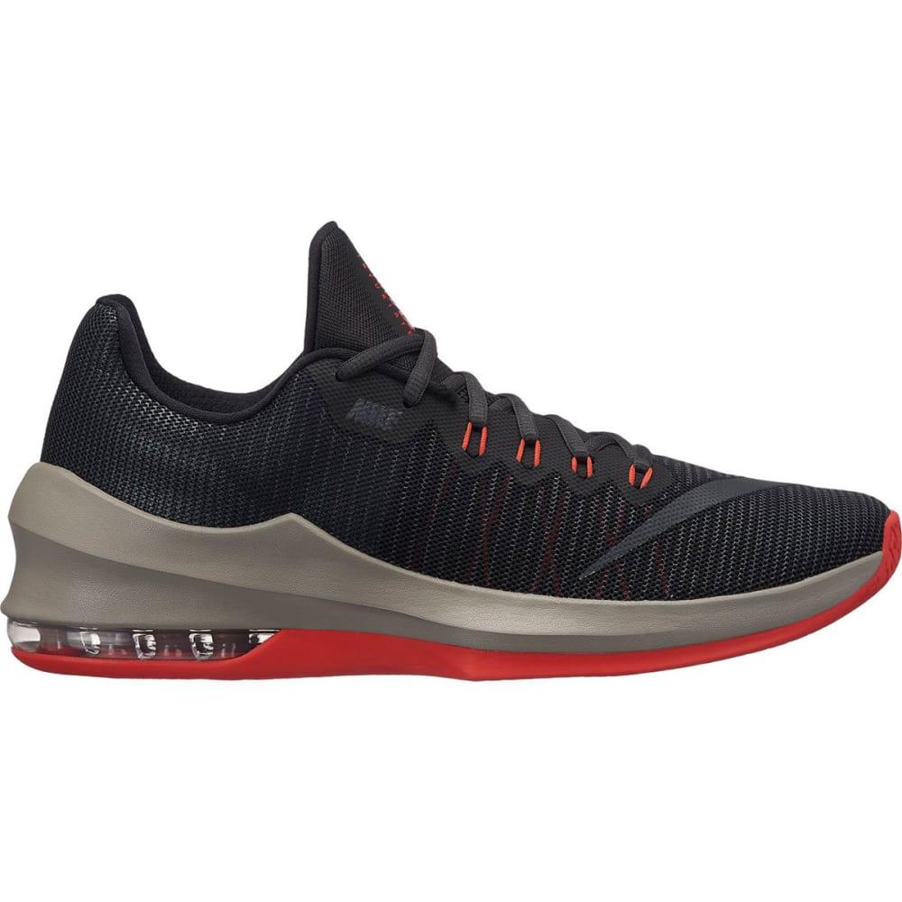 NIKE Men's Air Max Infuriate 2 Low Basketball Shoes - BLACK-020