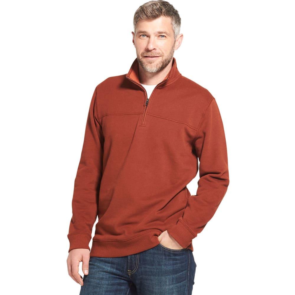 ARROW Men's Sueded 1/4 Zip Fleece Pullover M