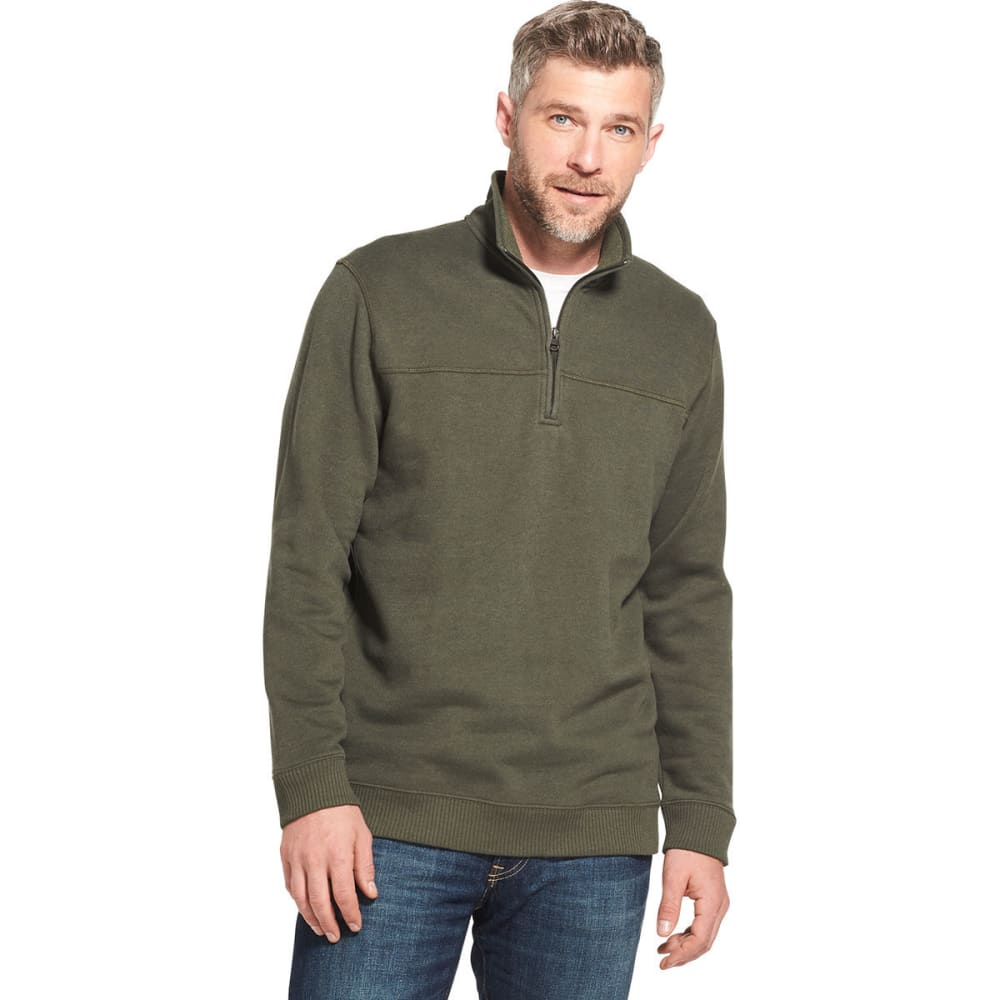ARROW Men's Sueded 1/4 Zip Fleece Pullover - ROSIN HTR -301