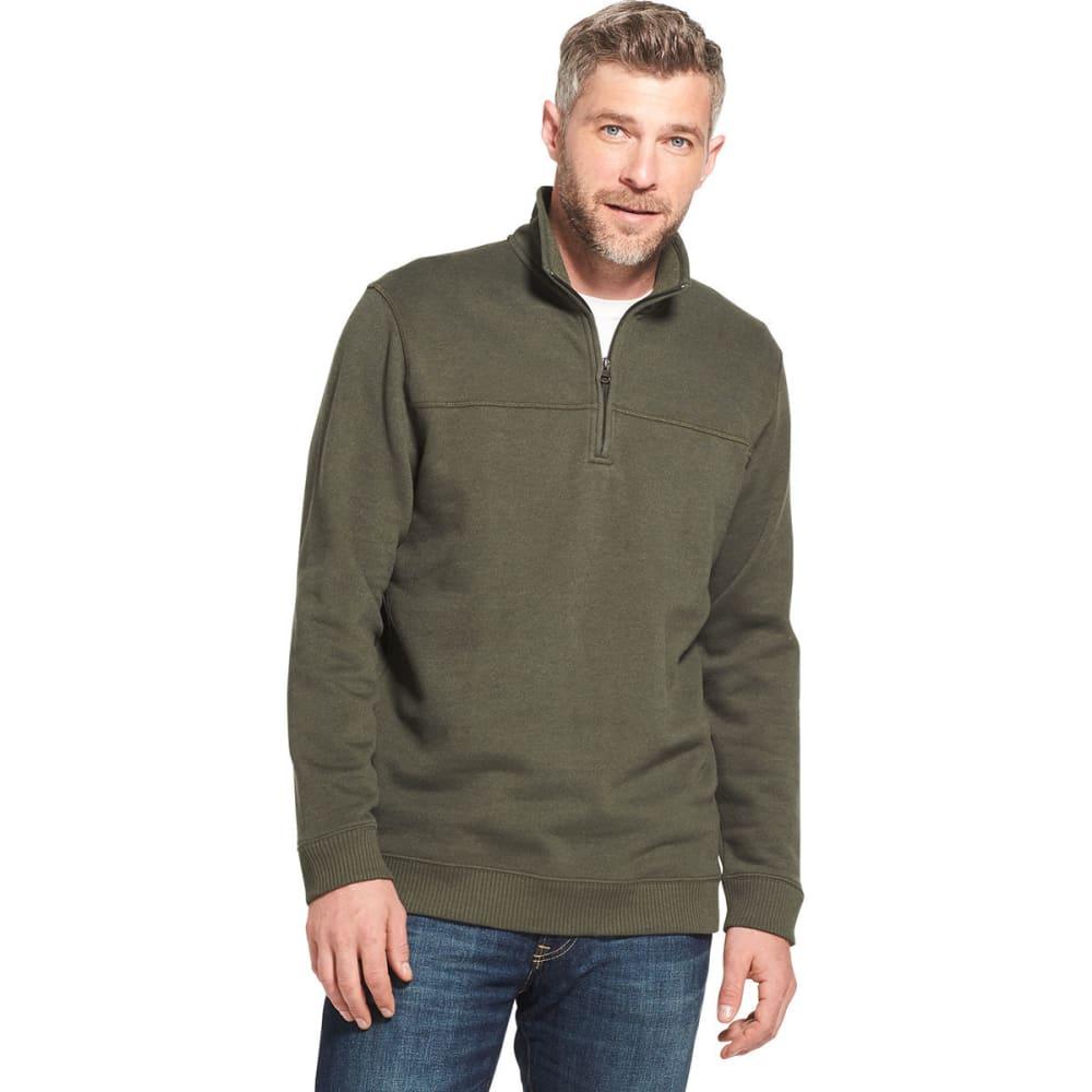 ARROW Men's Sueded 1/4 Zip Fleece Pullover - ROSIN HTR -301