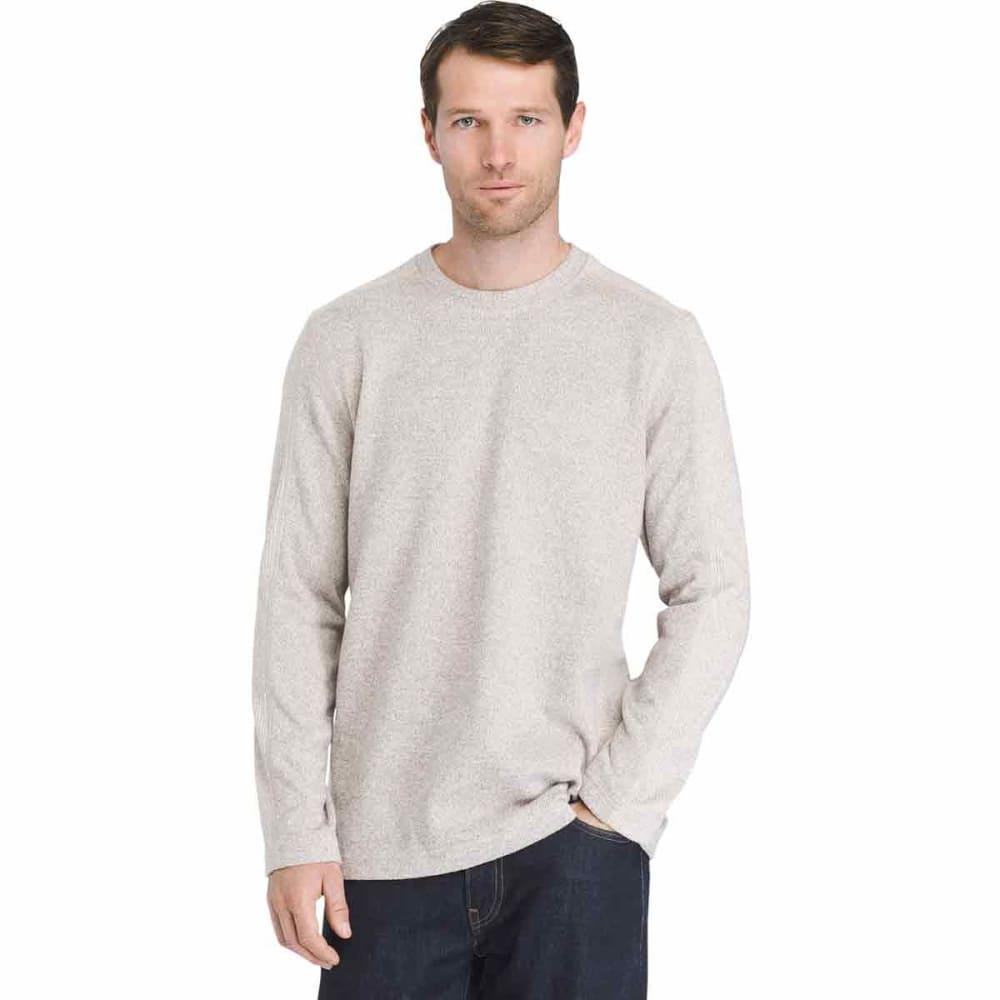 VAN HEUSEN Men's Flex Never Tuck Fleece Sweater L