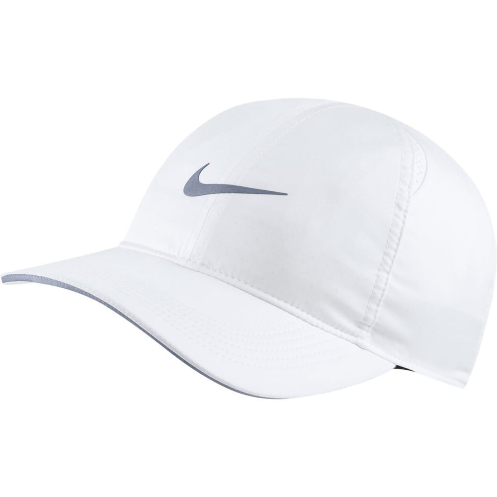 NIKE Men's Featherlight Running Cap - 100-WHITE