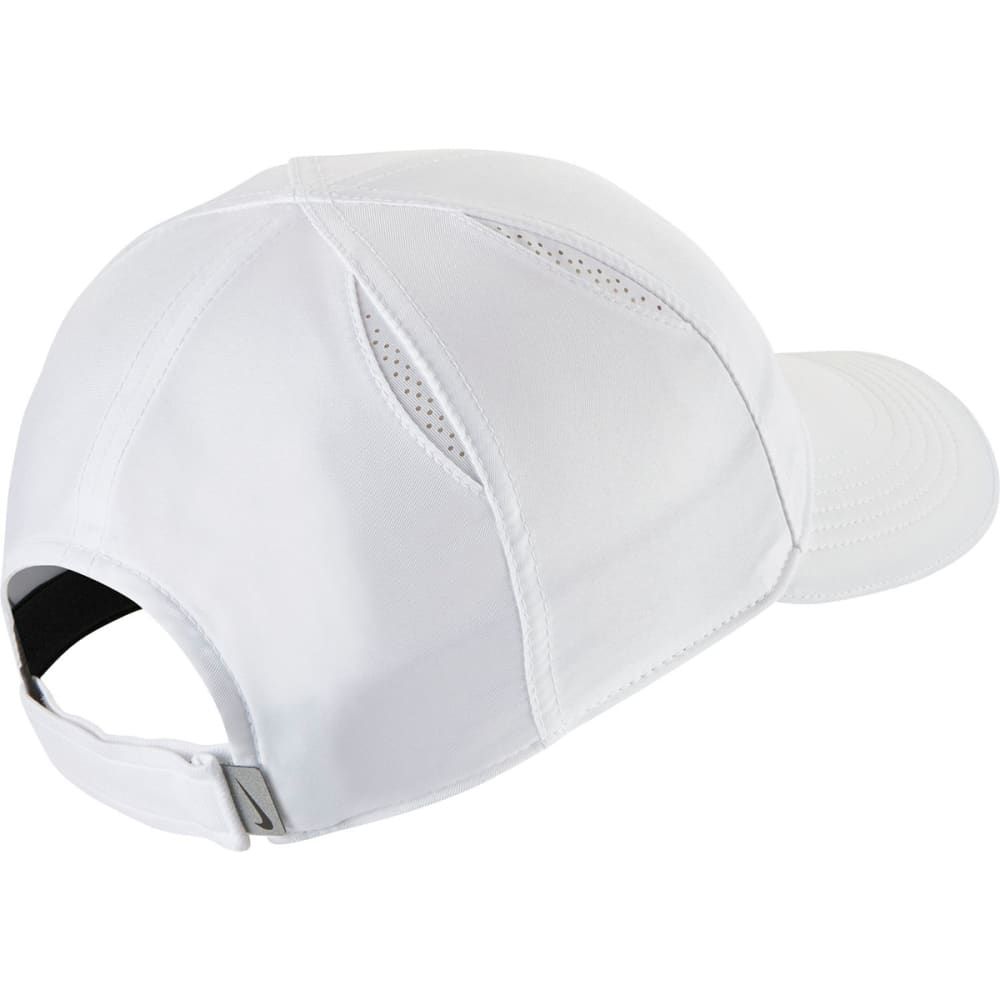 NIKE Women's Featherlight Running Cap - 100-WHITE