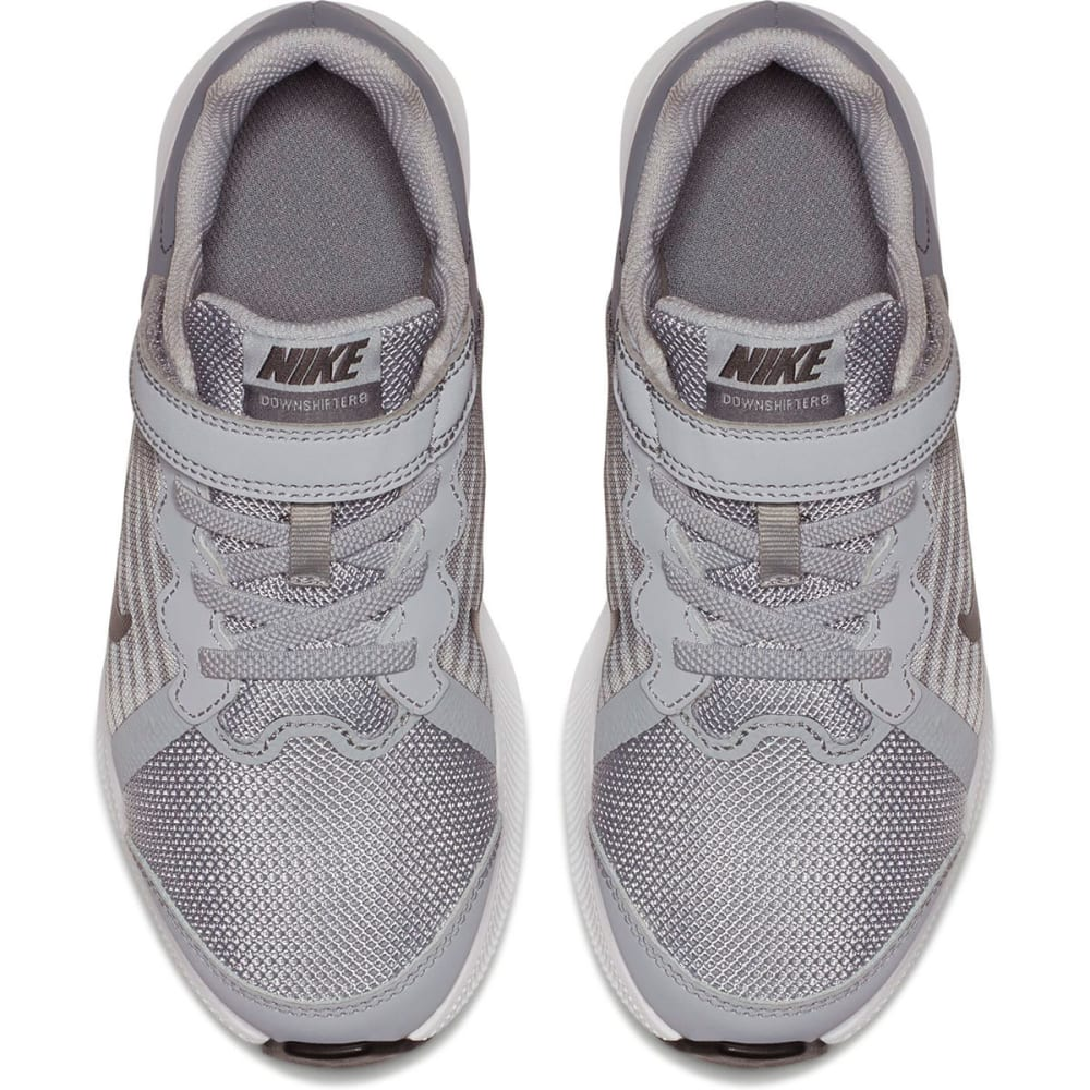 NIKE Little Boys' Preschool Downshifter 8 Running Shoes - WOLF GREY-002