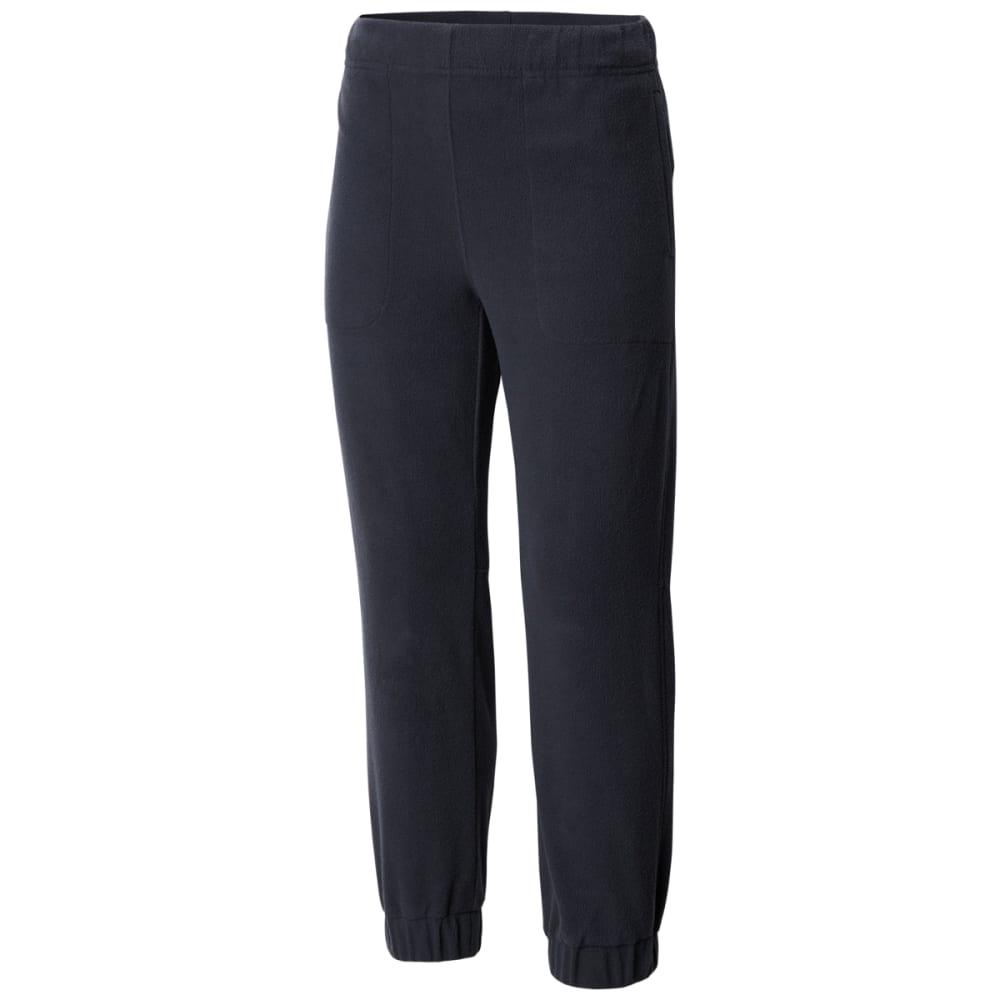 Columbia Big Boys' Glacial Fleece Banded Bottom Pants - Black, M