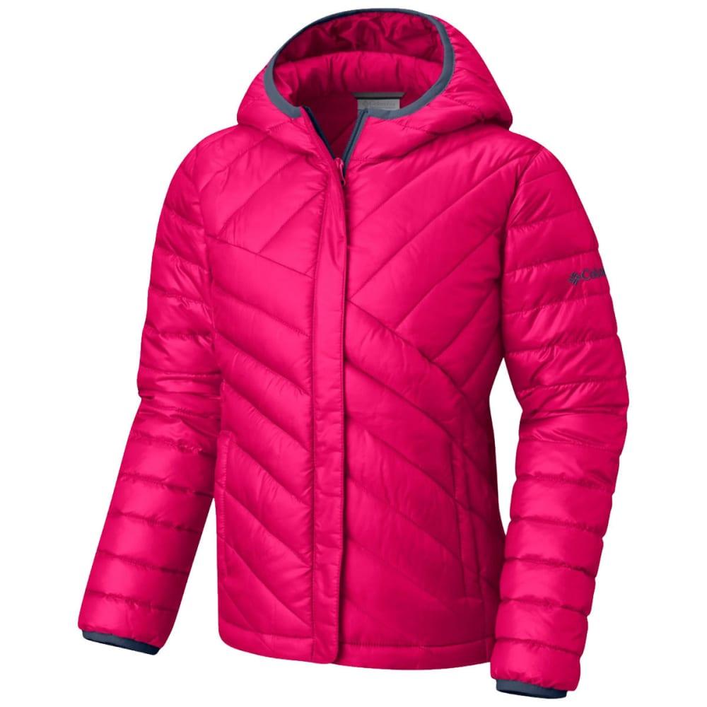 Columbia Big Girls' Powder Lite Puffer Jacket - Red, L