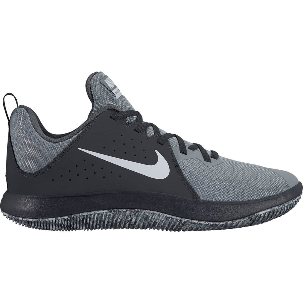 NIKE Men's Fly By Low Basketball Shoes - ANTHRACITE - 003