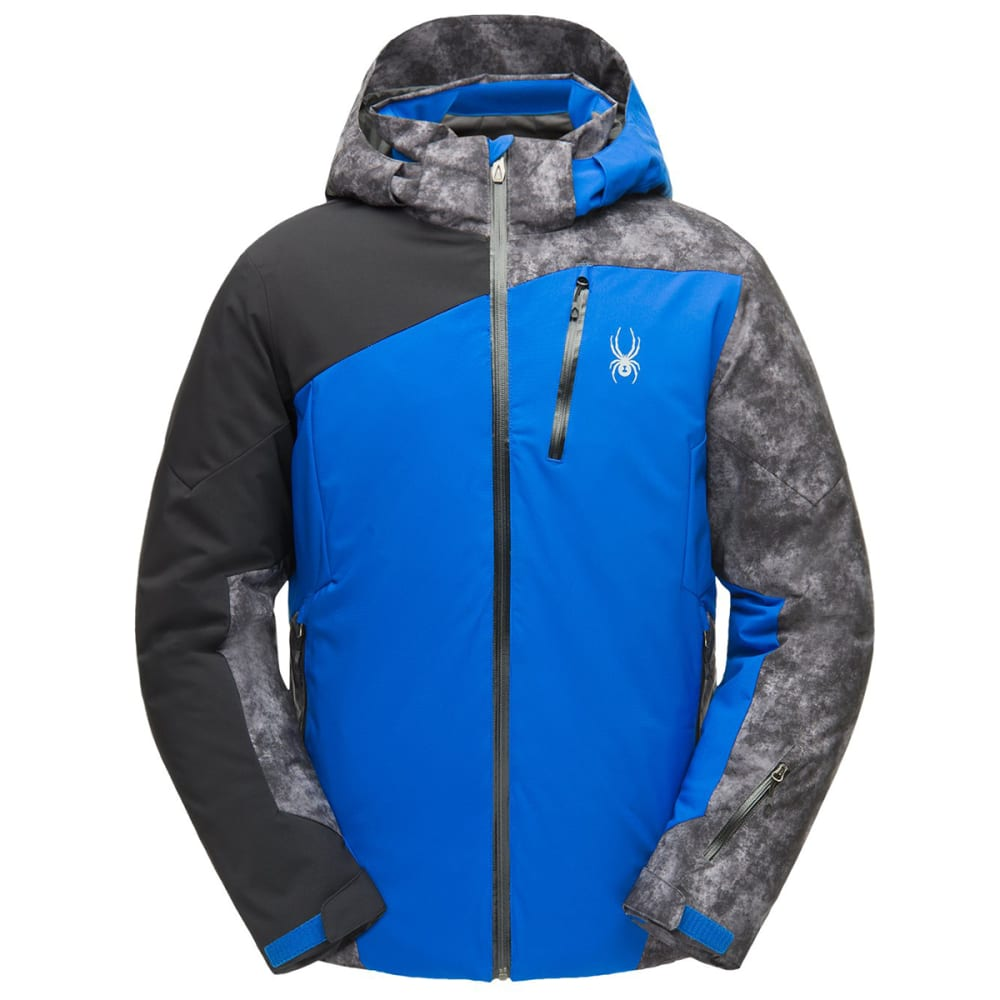 Spyder Men's Copper Gtx Ski Jacket - Blue, XL