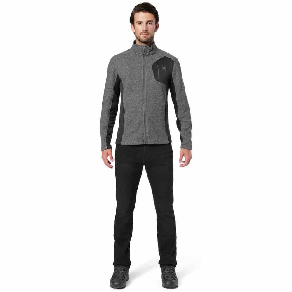 SPYDER Men's Bandit Full-Zip Stryke Jacket - BLACK-018