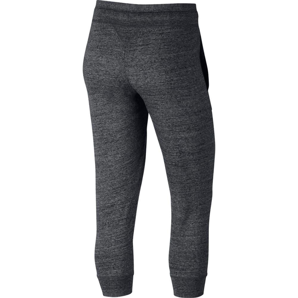 NIKE Women's Sportswear Gym Vintage Capri Pants - ANTHRACITE-060