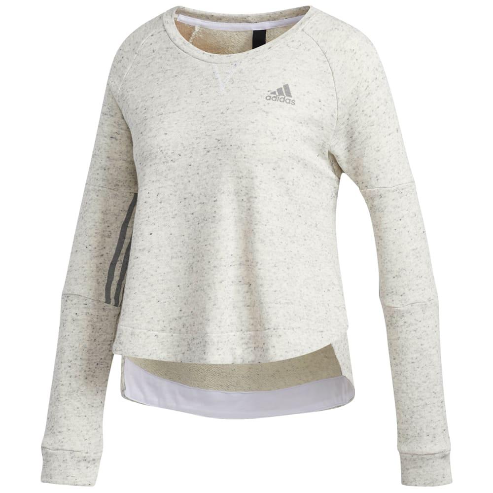 ADIDAS Women's Sport2Street Crew Fleece Pullover S
