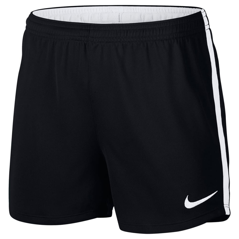 NIKE Women's Dri-FIT Academy Soccer Shorts - BLACK/WHITE-010