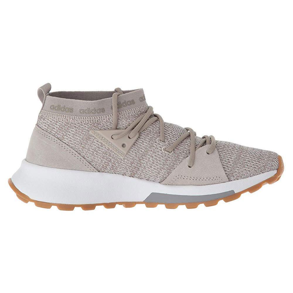 ADIDAS Women's Quesa Running Shoes - CLEAR BROWN - B96504