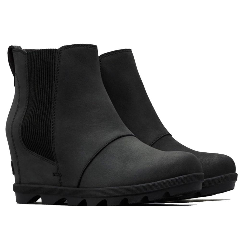 SOREL Women's Joan of Arctic™ Wedge Waterproof Chelsea Boots - BLACK -010