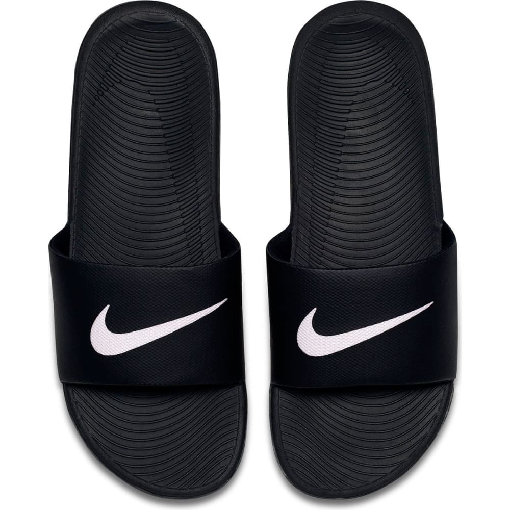 NIKE Men's Kawa Slide Sandals - BLK/WHT-010