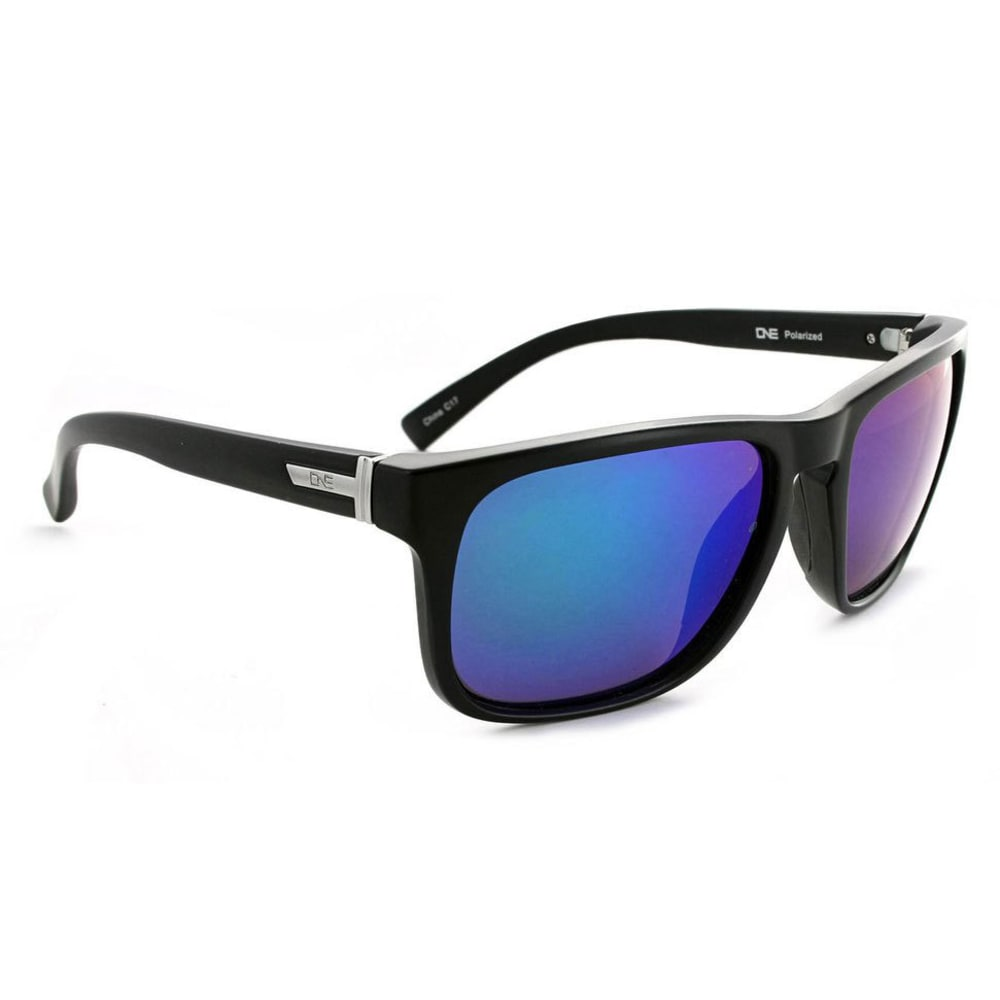 ONE BY OPTIC NERVE Ziggy Polarized Sunglasses - MATTE BLACK