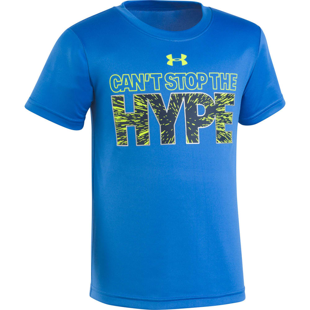 UNDER ARMOUR Little Boys' Can't Stop The Hype Short-Sleeve Tee - MEDITERRANEAN-40