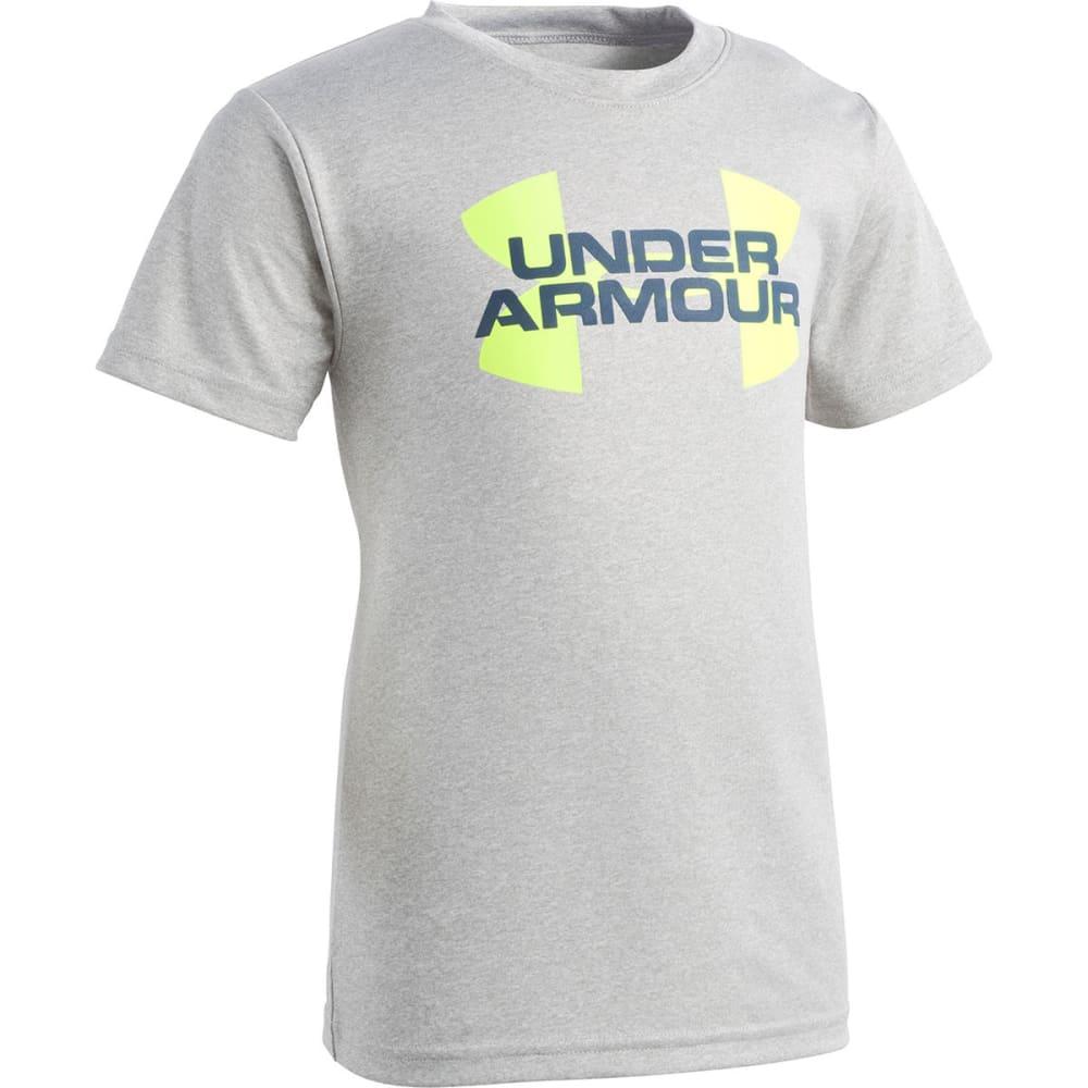 UNDER ARMOUR Little Boys' Linear Big Logo Short-Sleeve Tee - TGH-02