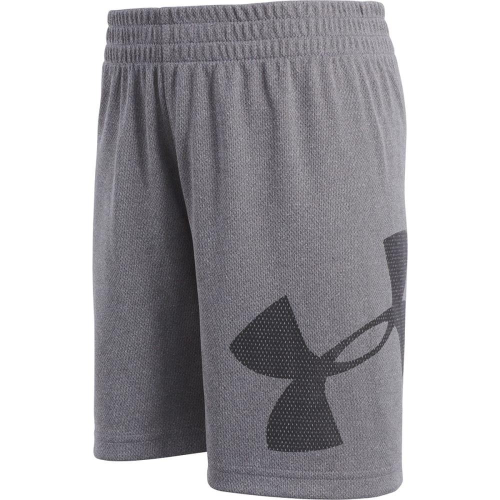 Under Armour Little Boys' Zoom Striker Shorts - Black, 4