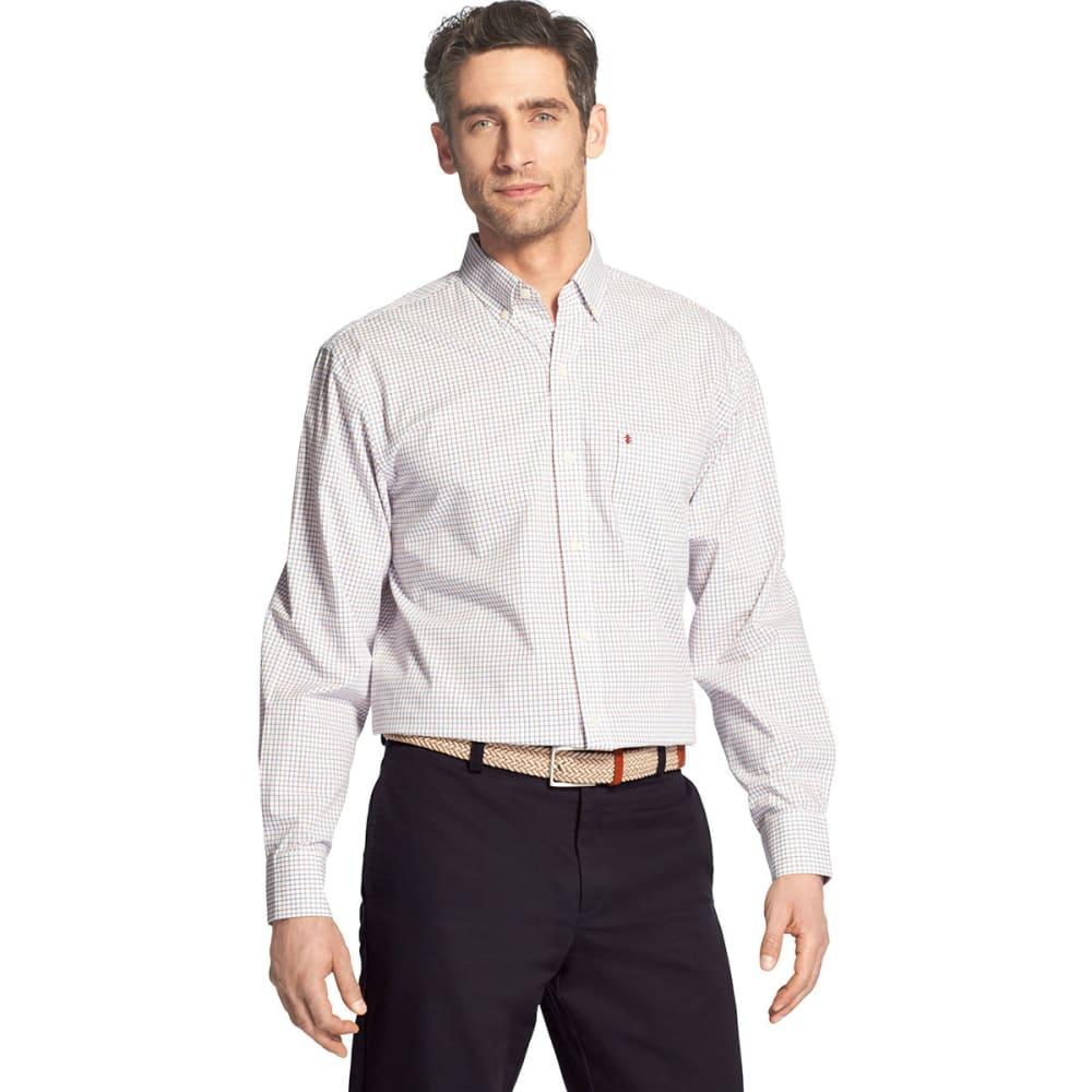 IZOD Men's Essential Premium Woven Long-Sleeve Shirt XL