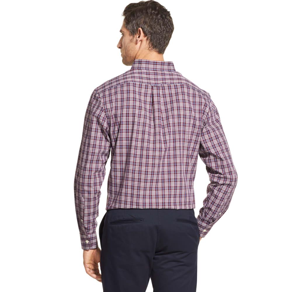IZOD Men's Essential Premium Woven Long-Sleeve Shirt - FIG -#505