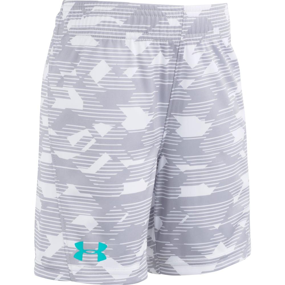 UNDER ARMOUR Little Boys' Edge Camo Boost Shorts - OVERCAST GRAY-05