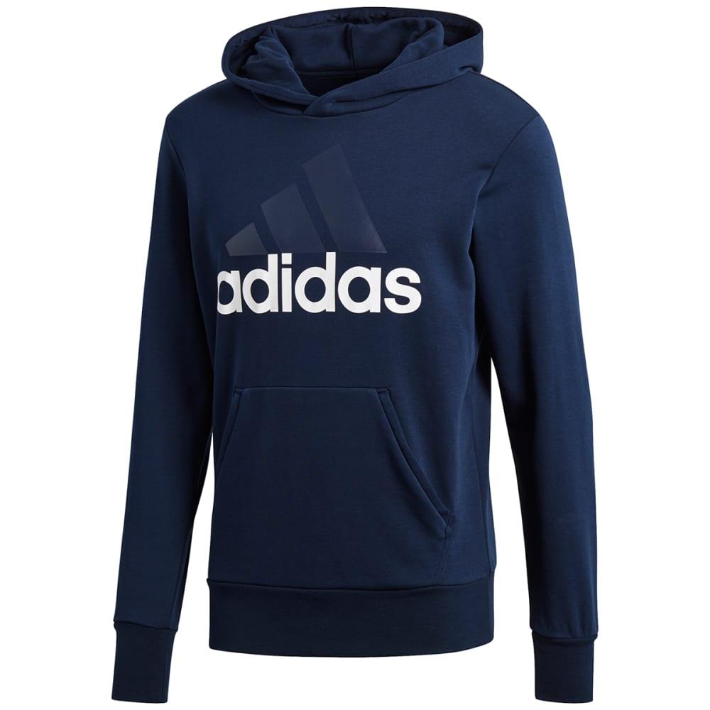ADIDAS Men's Essentials Linear Pullover Hoodie S