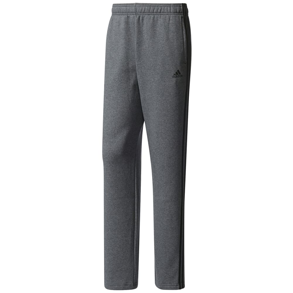 Adidas Men's Essentials 3-Stripes Fleece Pants - Black, S