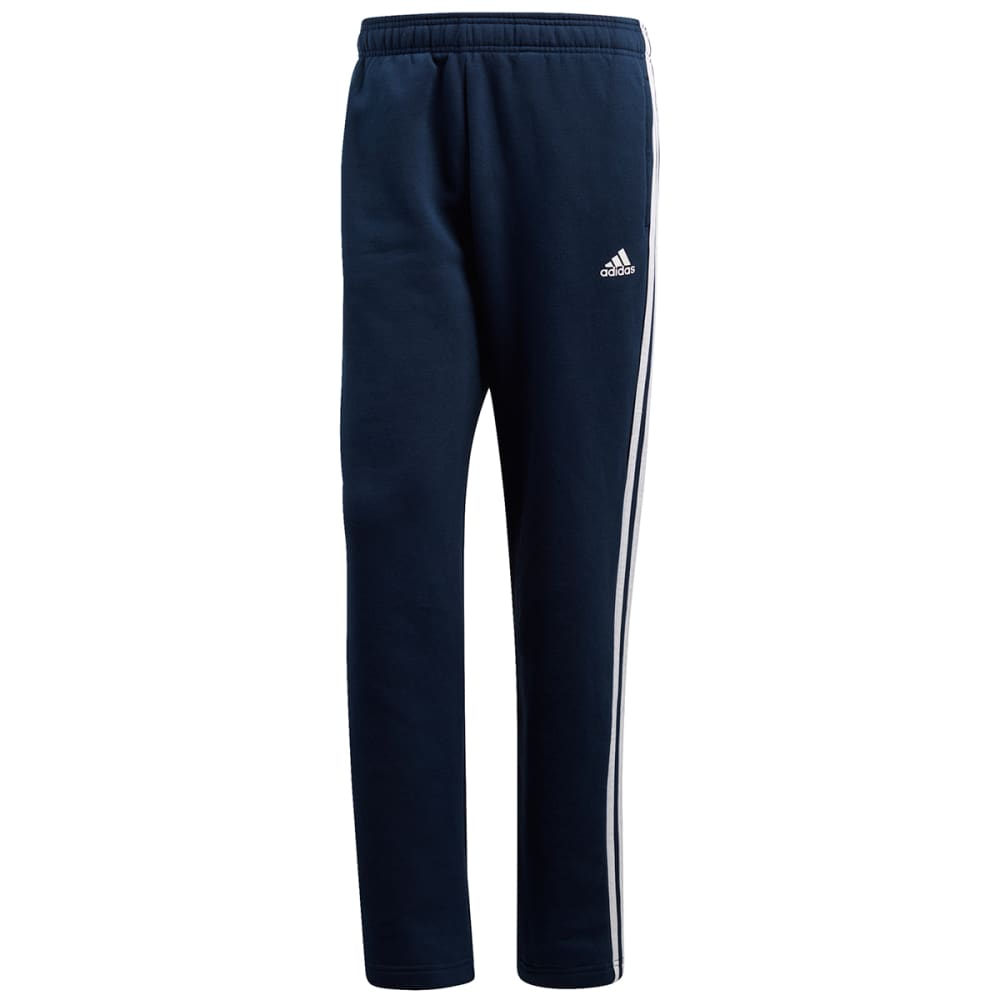 ADIDAS Men's Essentials 3-Stripes Fleece Pants - NAVY-BK7428